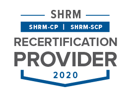 SHRC Recertification logo